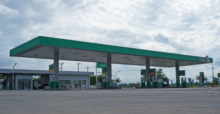 Benzine Diesel Diesel Power Energy Fuel Station Gallon Gasoline Station Industry Oil Service Station Sky Station Thailand Transportation