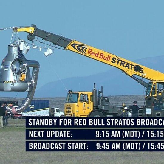 RedBull Stratos Livejump