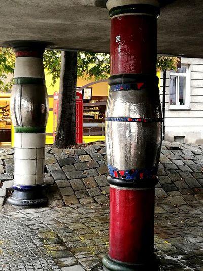 Strange columns