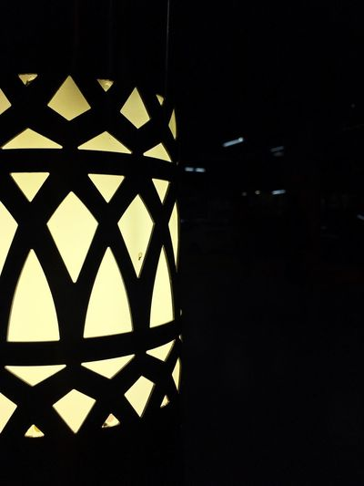 Blemished Pattern Illuminated Indoors  Architecture Close-up Parking Parking Light