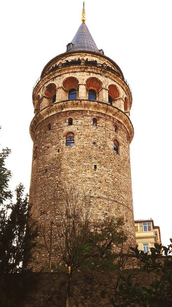 City No People Tower Architecture Tourism Galata Tower Built Structure History Building Exterior Travel Destinations Sky Outdoors Clock Tower Day