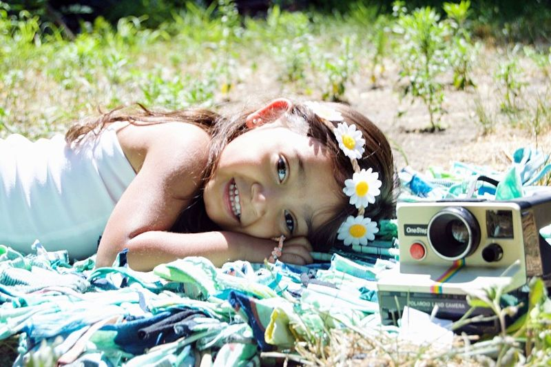 Lying Down One Person Portrait Outdoors Day Grass Smiling Happiness Beautiful Girl Innocence Children Long Hair Cutie Enjoying Life Detroit Child Summer Bright Posing Fouryearsold