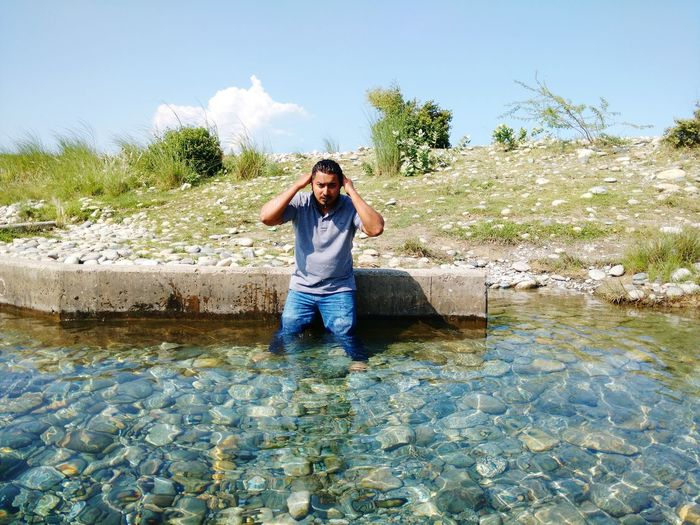 Moto X Play Tour Pakistan Pakistani Traveller Bluewater Lake Peshawar Pakistan