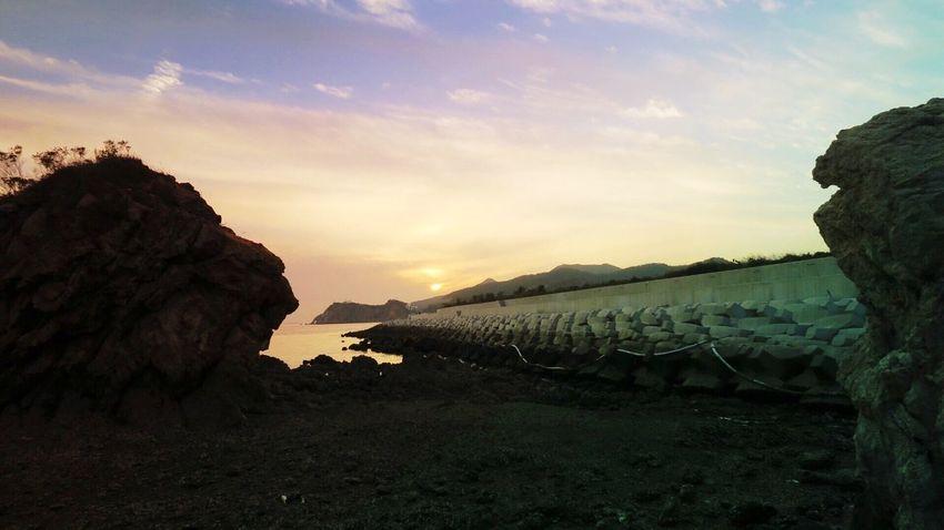 The beach of Dalian