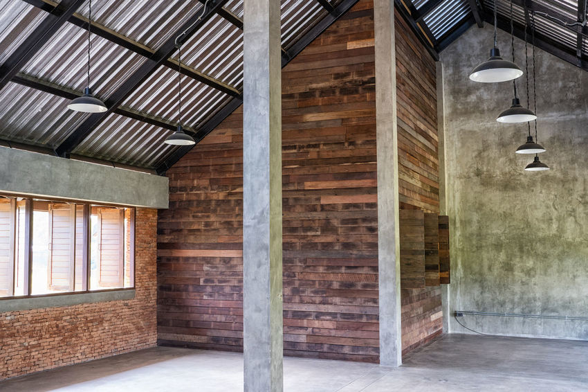 Architecture Built Structure Indoors  No People Wood - Material Day Building Ceiling Window Wall - Building Feature Brick Wall Wall Architectural Column Construction Industry Brick Roof Industry Roof Beam Concrete