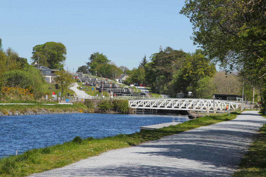 Canal Caledonian Canal Banavie Neptunes Staircase