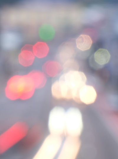 Sydney New South Wales  Defocused Lens Flare Illuminated No People Geometric Shape Glowing Circle Shape Pattern Outdoors Light City Abstract Multi Colored Traffic Parramatta Road Light Streaks Headlights Taillights Red And White