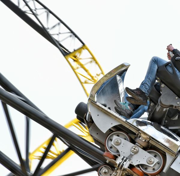 Roller Coaster Rollercoaster Theme Park Themepark Amusementpark Amusement Parks Amusement Ride Coaster Higher Faster Crazier Speed Fast Walibi Walibi Holland