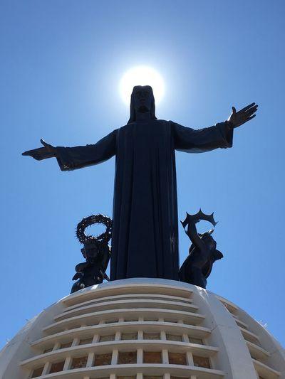 Jesus Christ Sunset Saviorcolor of life
