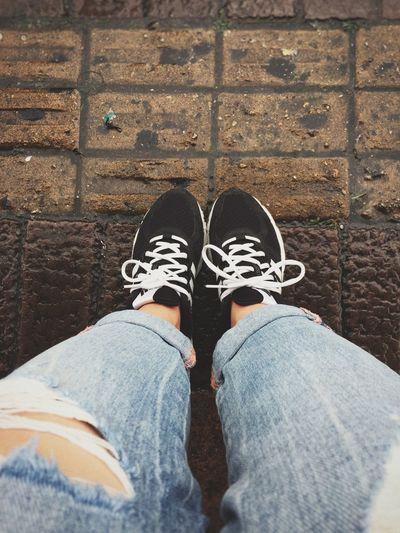 Vintage Rainy Days I'm Shoes Adidas