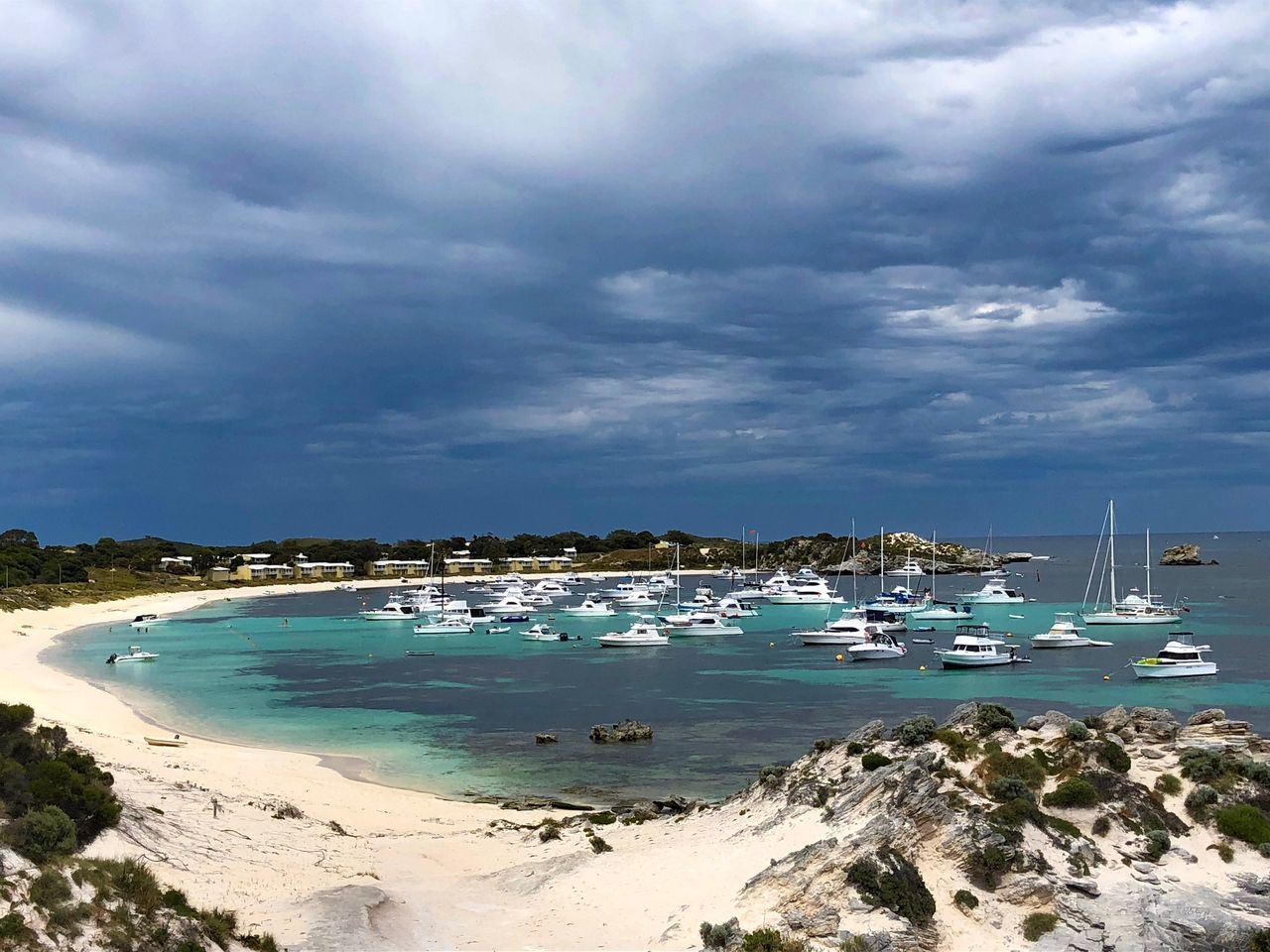 cloud - sky, nautical vessel, water, sky, sea, transportation, mode of transportation, nature, beauty in nature, scenics - nature, land, beach, day, no people, travel, tranquility, tranquil scene, outdoors, yacht, anchored, turquoise colored, sailboat