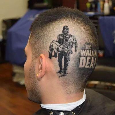 Dope as fuck. Thewalkingdead Haircut Trimm