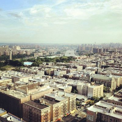 Looking From The Top of NYC Down Bronx Instagramuptown Inwood Washingtonheights Uptown downtown newyorkcity newyork city nyc
