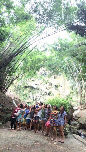 Last weekend. Super Happy Lifestyles Togetherness Travel Enjoyment Fun Nature Family Tumalog Falls Phillipines