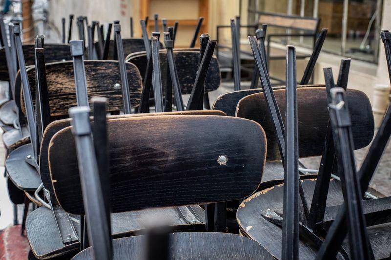 Chairs waiting
