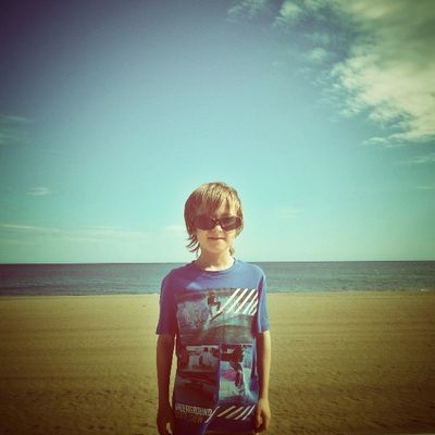 This is my son. My No1 achievement in life. Photography Instagram Wales Coast Seascape Beach Igwales Love Son SPAIN Estepona