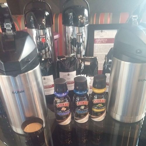 Aristo Cup Coffee is now being served.