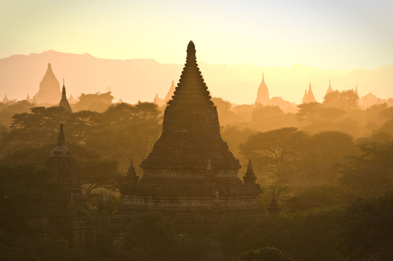 Ancient Ancient Civilization Architecture Bagan Borobudur Temple Built Structure Check This Out Cultures Famous Place History International Landmark Myanmar No People Outdoors Place Of Worship Religion Spirituality Stupa Sunset Temple Temple - Building The Past Tourism Tranquility Travel Destinations