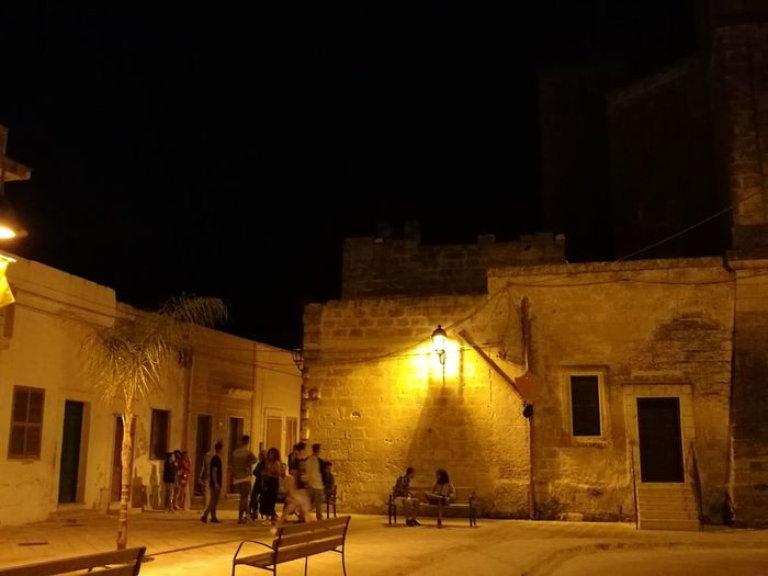 """""""A place where the time never passes"""" Original Original Photography No Filter No Filter, No Edit, Just Photography Nightphotography Night Night Lights Monteparano, Salento Puglia Puglia South Italy Taking Photos Hello World Relaxing Behind The Church"""