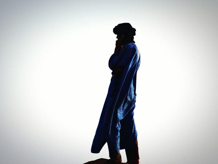 Berbere South Morocco Desert Hommebleu Blue Man Maroc