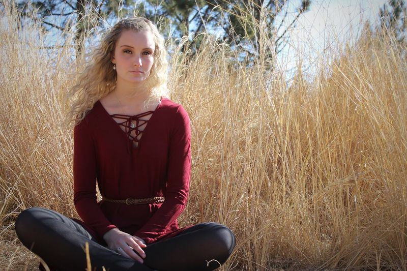 Emotions make us human. Denying them makes us beasts. Nature Eyes South Africa One Person Young Adult Adult One Young Woman Only Blond Hair People Portrait Beauty Sitting Front View