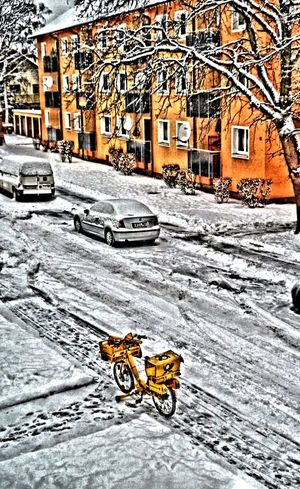 The View From My Window Wintertime Street Art HDR
