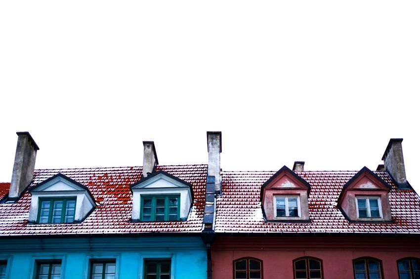 Snow Winter Window House Sky Architecture Building Exterior Built Structure Old Town Town Square Roof Tile Roof Tiled Roof  Row House
