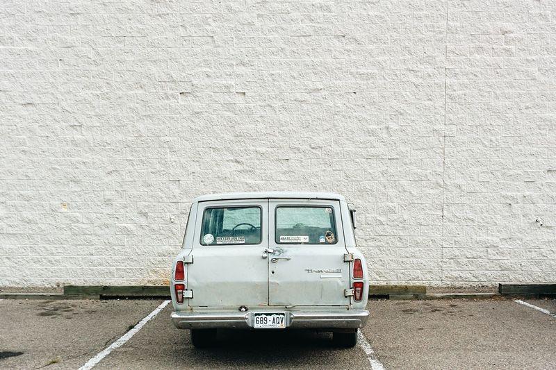 US car! Vscocam Oldtimer Soloparking Minimalism
