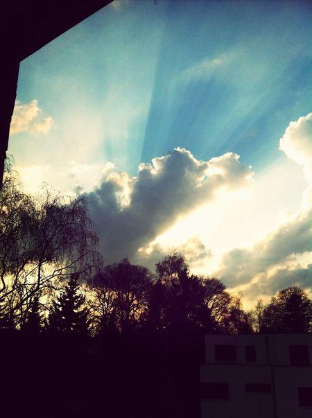 Sky Porn Clouds Sunshine