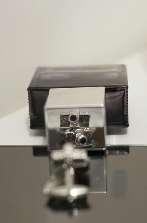 Creative Photography Cuffs Cufflinks Photography Cameras Eye For Detail Eye For Photography Creative Reflections Mirrors Selective Focus Pentax K5 50mm Looking Back At You Snap Reflections Creative Photographs Perspective