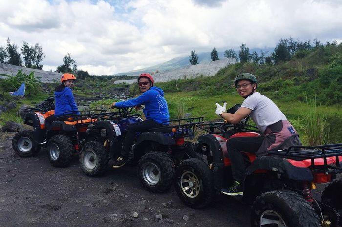 Eyeem Philippines Check This Out ATV Ride Cagsawa Ruins Legazpi City Enjoying Life