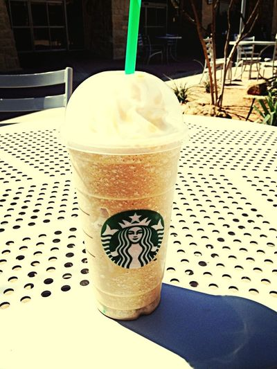 First frappuccino of the year