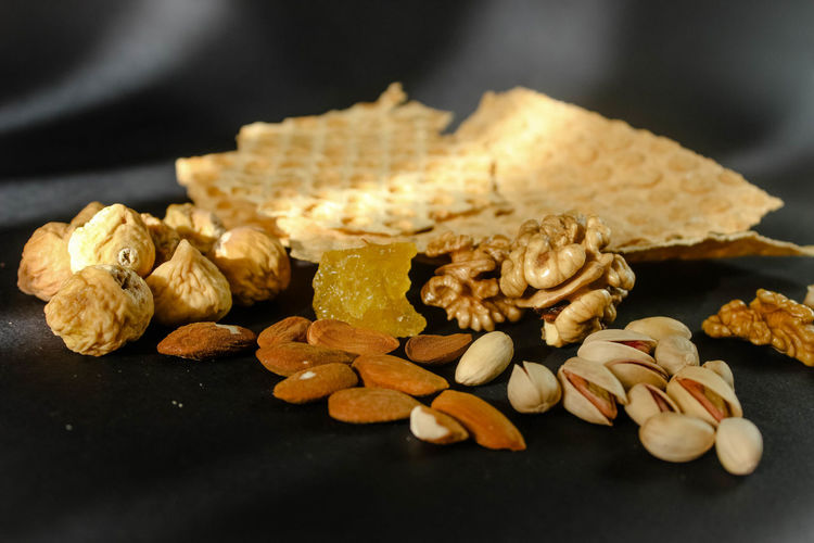 Almond Black Background Close-up Dried Food Dried Fruit Focus On Foreground Food Food And Drink Freshness Healthy Eating Indoors  Luxury No People Nut Nut - Food Peanut - Food Seed Selective Focus Snack Still Life Temptation Wellbeing