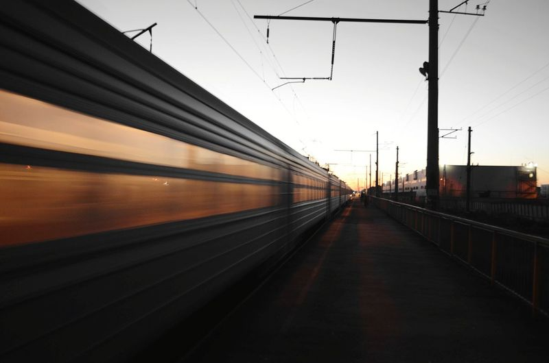 Relaxing Train Travel Wonderful Train Station Station Just Leaving  I Go home, n sa...