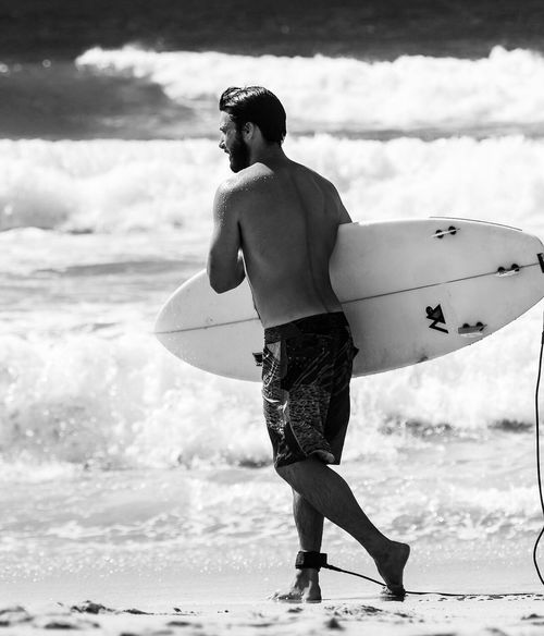 My surfer boy! Surfing Surfer Sydney Australia Olivervalentine Blackandwhite Black And White Photography OpenEdit Open Edit
