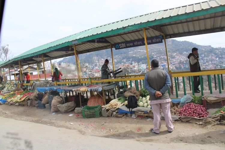 Vegetable market Real People Day Market Group Of People Men Sky People Market Stall Retail  Lifestyles Small Business