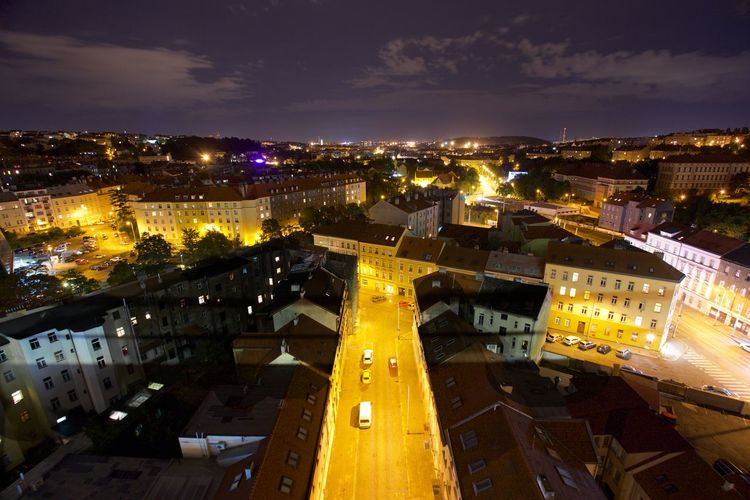 Architecture Cityscape Czech Republic Nightphotography Prague Prague Czech Republic Architecture Building Exterior City Cityscape Illuminated Night Outdoors Sky Wide Wide Angle