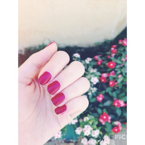 Yay or nay? Nail Polish Red