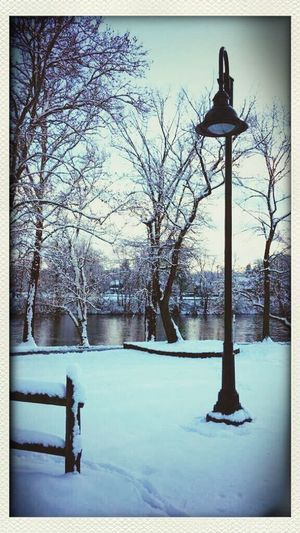 Winter Lamppost Narnia