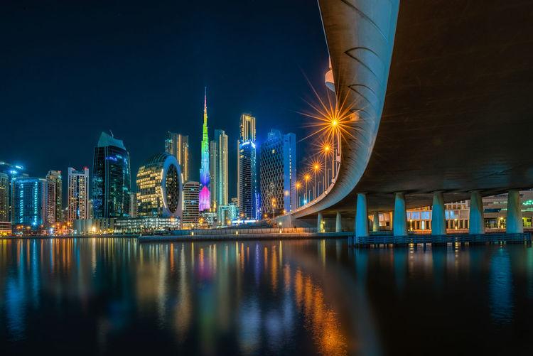 Burj khalifa.view of buildings, streets, beautiful in various angles in du bai.