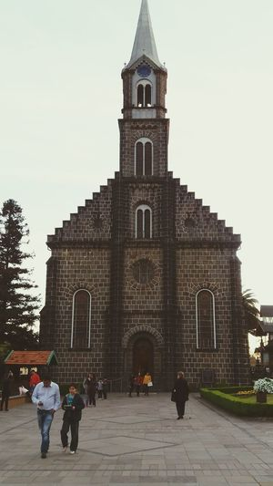 Church Catholic Church Gramado Outdoors Brazil