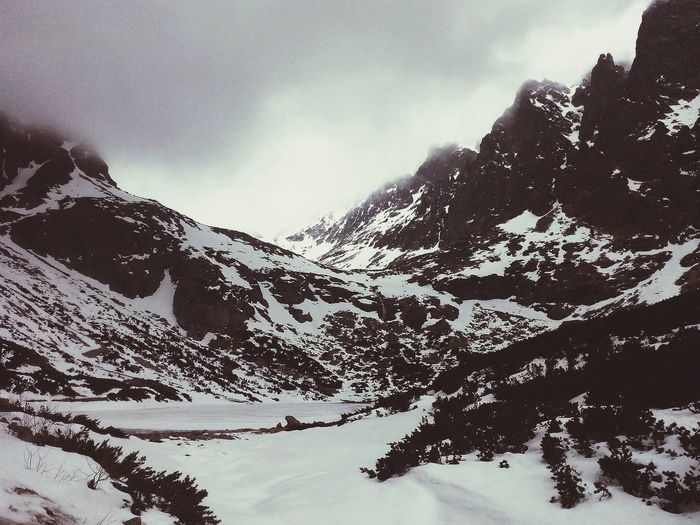 Snow Mountains Slovakia Travelling Hightatras  Traveller Clouds Travel Photography