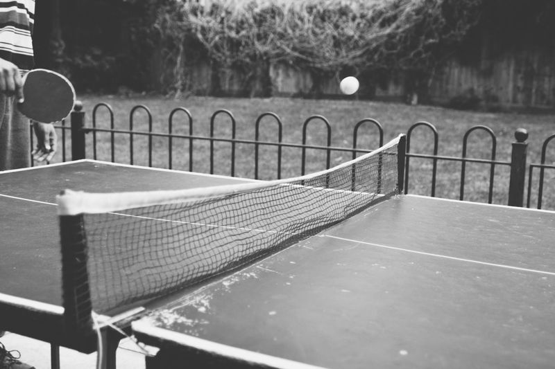 Absence Black And White Close-up Day Diminishing Perspective Empty Focus On Foreground Nature No People Outdoors Ping Pong Seat The Way Forward Tranquility