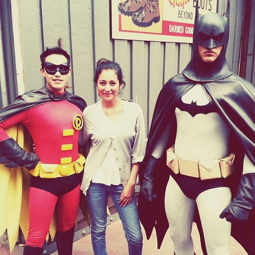 With my heroes:3 First Eyeem Photo