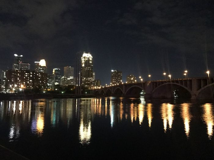 Minneapolis Mississippi River Downtown Minneapolis