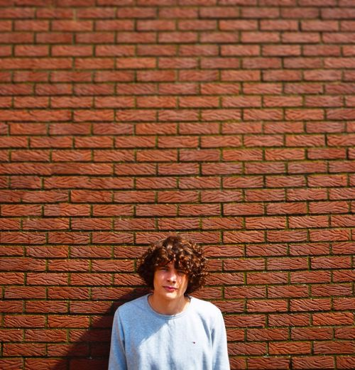 As I see myself. Portrait Brick Wall First Eyeem Photo