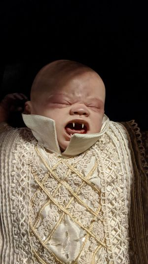 Vampire Baby at The Wilde Collection Vampire Vampire Baby Baby Creepy The Wilde Collection Houston Texas Htown Htx Travel Travel Photography Travel Blogger Good Times Followme