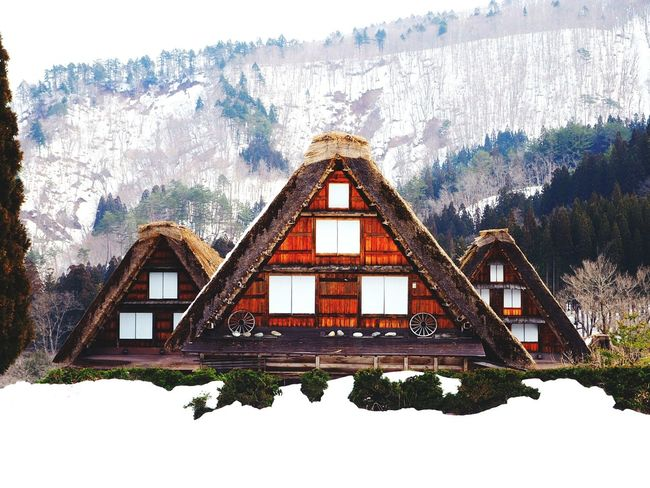 My happy time with Snow ❄ at Shirakawago Gifu architectureResidential Building Mountain 日本2017年 Landscape My Memories Perspective Omdem10markII Viewfrommyeyes