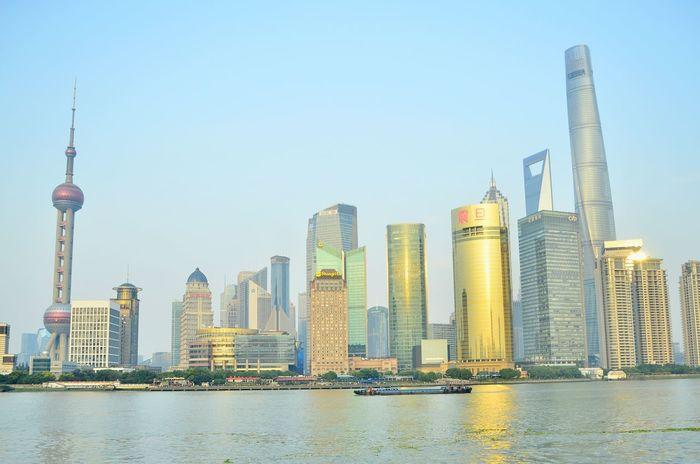 Shanghai China Travelling City Lights City Skyline Shanghai Skyline  Taking Photos Open Edit Lights Seeing The Sights