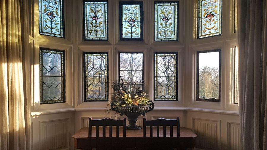 Interior shot of Caverswall Castle and one of its many stunning windows and stained glass. Castle Caverswall Castle Window Stained Glass Stained Glass Window EyeEm Selects Window Indoors  Ornate Architecture Home Interior Day No People Built Structure Luxury